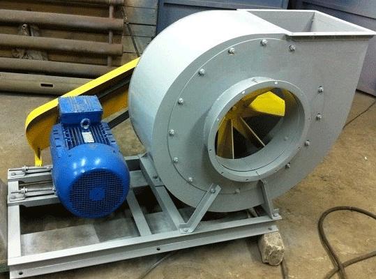 Применение УПП для центробежных вентиляторов