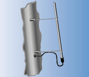 Анализатор влажности радарного типа TRIME-GW с одностержневым зондом LINE