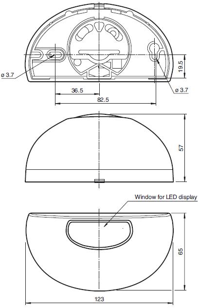 Радарные датчики серии RMS-D-RC для автоматических дверей