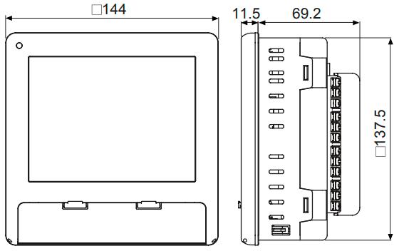 Безбумажный регистратор Autonics