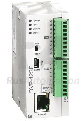 Программируемые логические контроллеры. Сверхкомпактная серия ПЛК  DVP - SA/SC/SS/SX